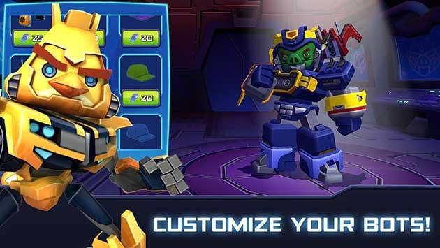Angry Birds Transformers screenshot 1