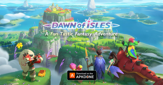 Dawn of Isles poster