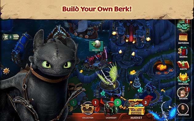 Dragons: Rise of Berk screenshot 1