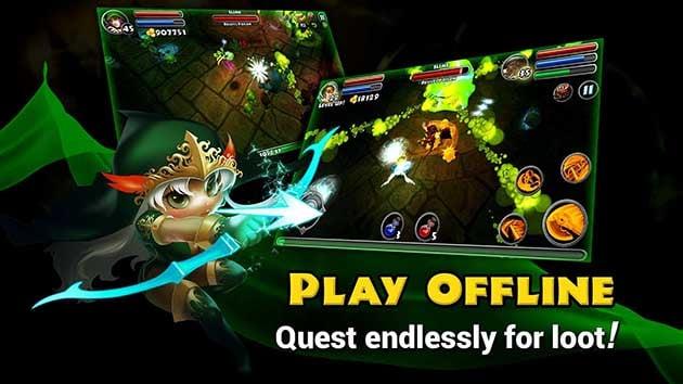 Dungeon Quest screenshot 2