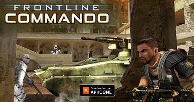 Frontline Commando poster