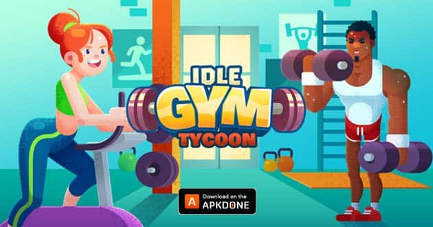 Idle Fitness Gym Tycoon poster