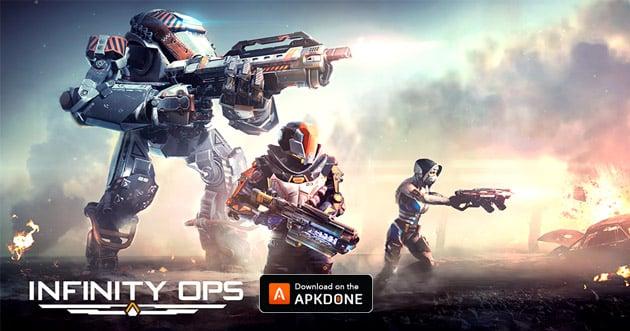 Infinity Ops Online FPS poster