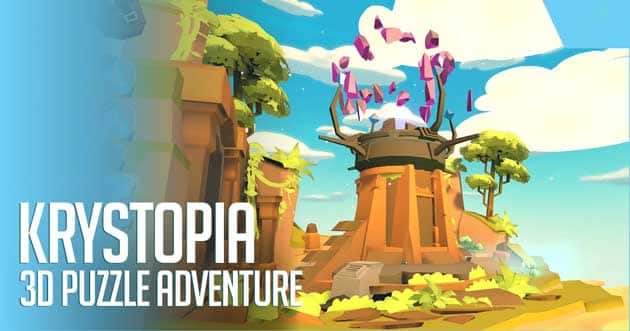 Krystopia: A Puzzle Journey poster