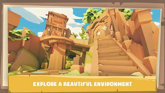 Krystopia: A Puzzle Journey screenshot 1