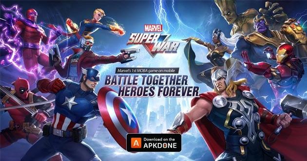 MARVEL Super War poster