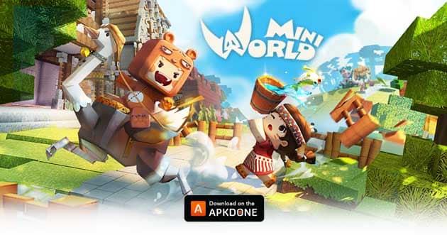 Mini World: Block Art poster