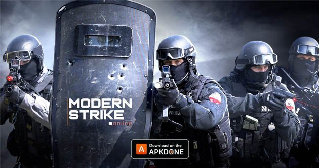 Modern Strike Online poster