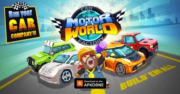 Motor World Car Factory poster
