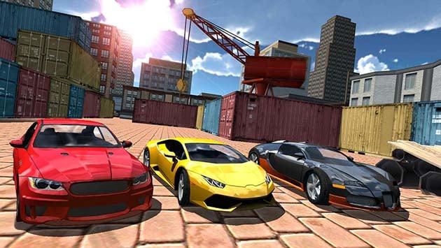 Multiplayer Driving Simulator screenshot 1