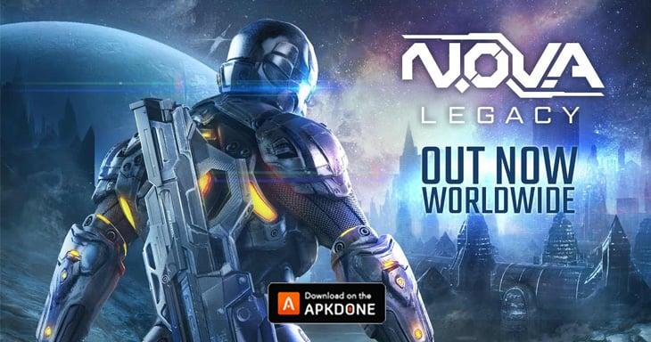 N.O.V.A. Legacy poster