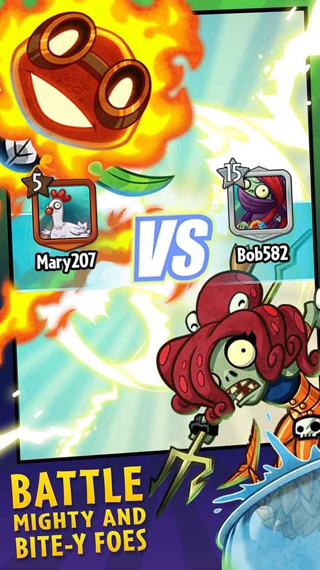 Screenshot 2 de Plants vs Zombies Heroes