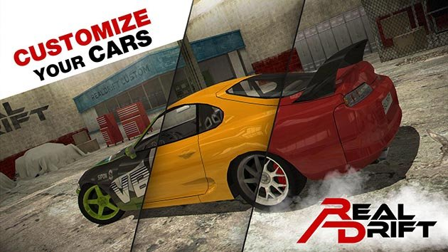 Real Drift Car Racing screenshot 1