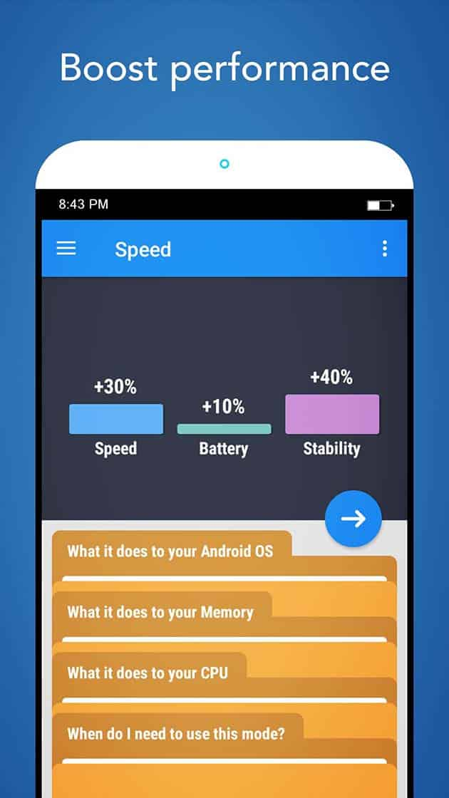Root Booster screenshot 1