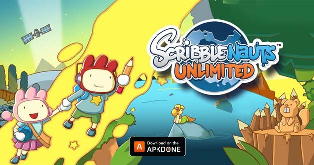 Scribblenauts Unlimited poster