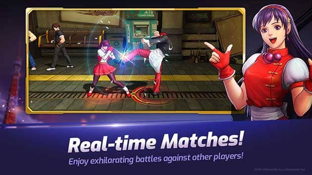 The King of Fighters ALLSTAR screenshot 3