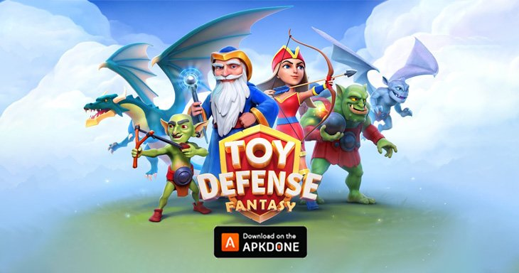 Toy Defense Fantasy poster