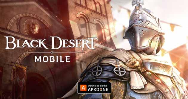 Black Desert Mobile poster