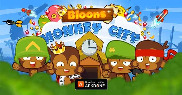 Bloons Monkey City poster