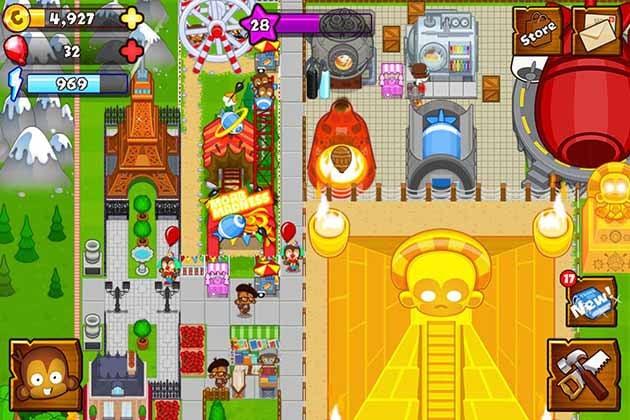 Bloons Monkey City screenshot 2