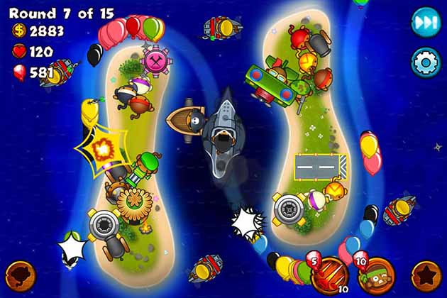 Bloons Monkey City screenshot 3