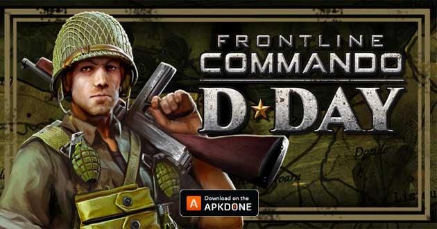 Frontline Commando D Day poster