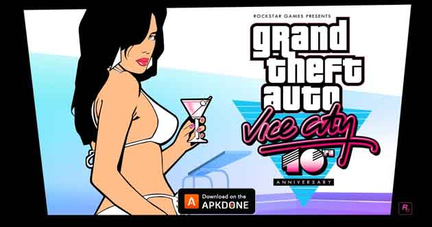 Grand Theft Auto Vice City poster