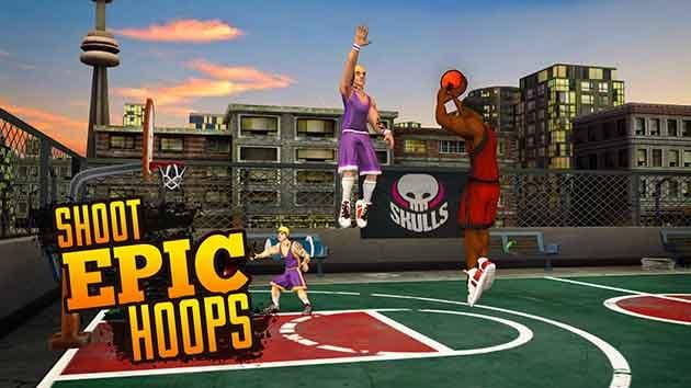 Jam League Basketball screenshot 1