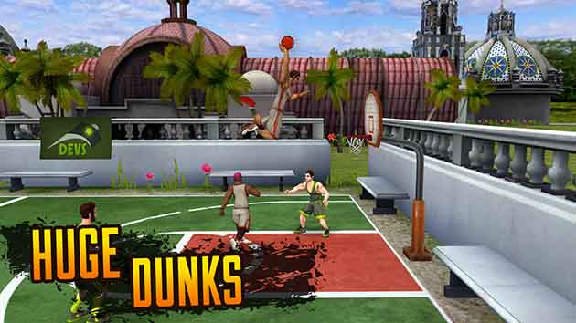 Jam League Basketball screenshot 2