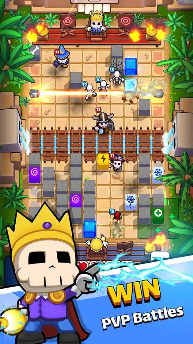 Magic Brick Wars screenshot 1