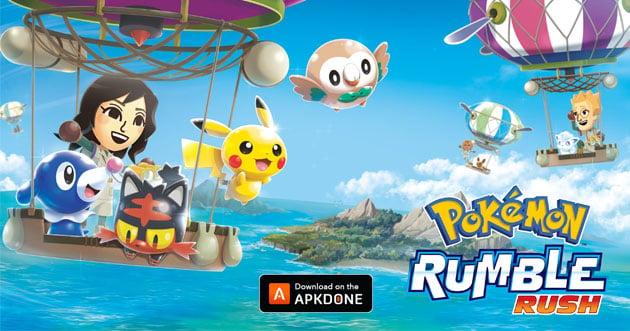 Pokemon Rumble Rush poster