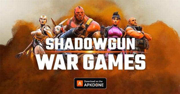 SHADOWGUN War Games poster
