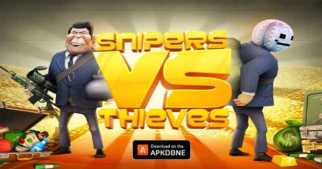 snipers vs thieves mod apk download