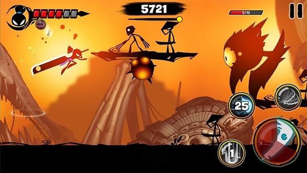 Stickman Revenge 3 screenshot 2