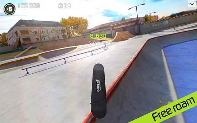 Touchgrind Skate 2 screenshot 2