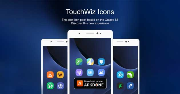TouchWiz Icon Pack poster