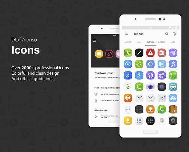TouchWiz Icon Pack screenshot 1