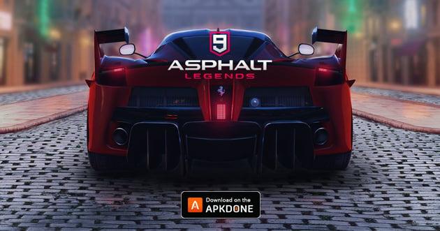 Asphalt 9: Legends poster