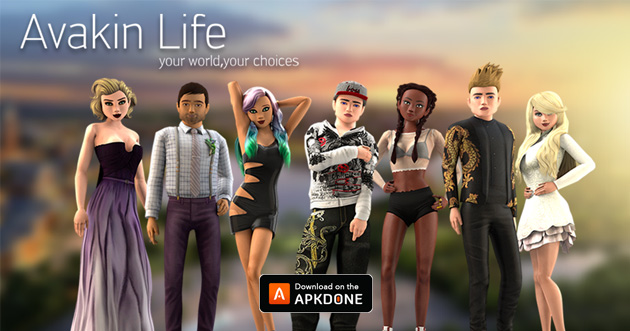 Avakin Life poster