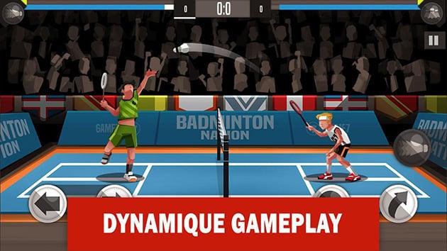 Captura de pantalla 1 de Badminton League