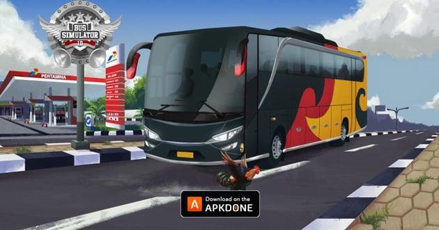 Bus Simulator Indonesia poster