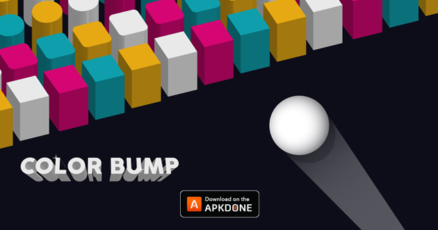 Color Bump 3D poster