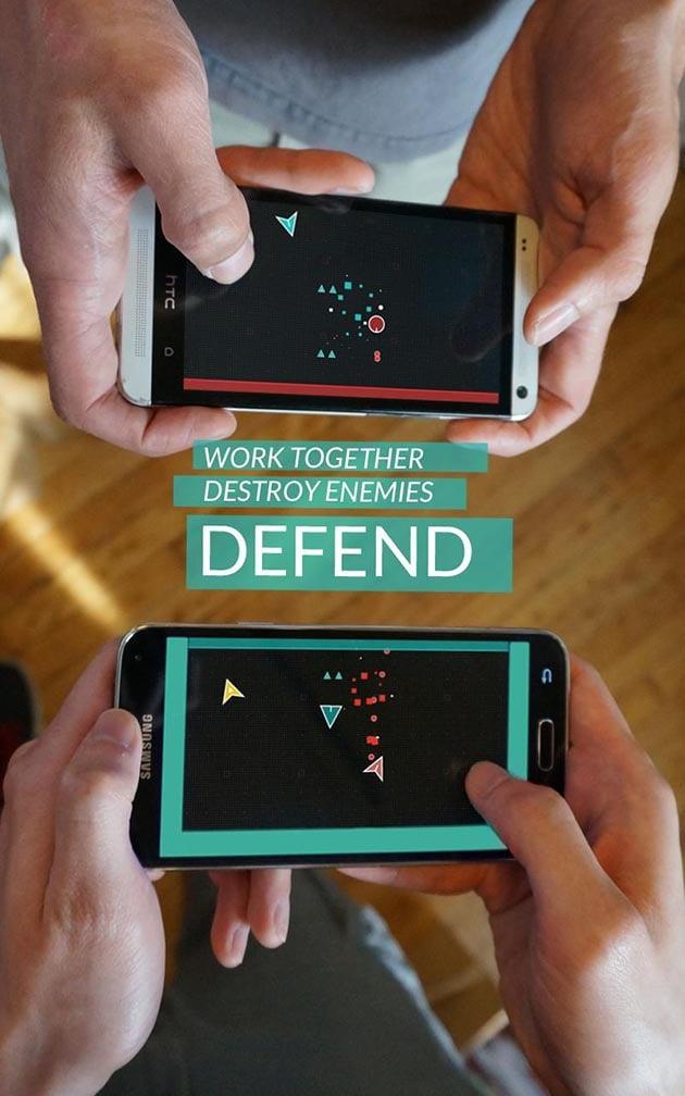 DUAL game screenshot 2