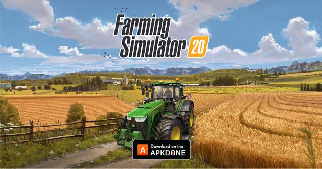 Farming Simulator 20 poster
