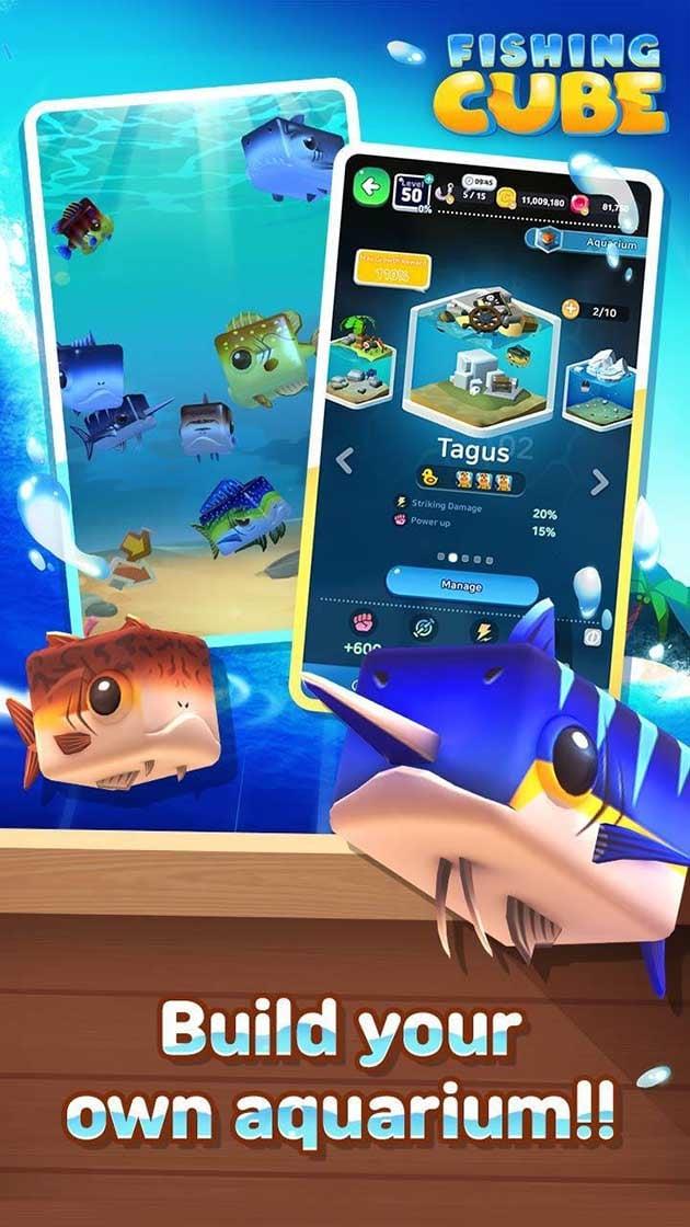 Fishing Cube screenshot 2