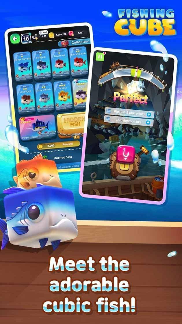 Fishing Cube screenshot 1