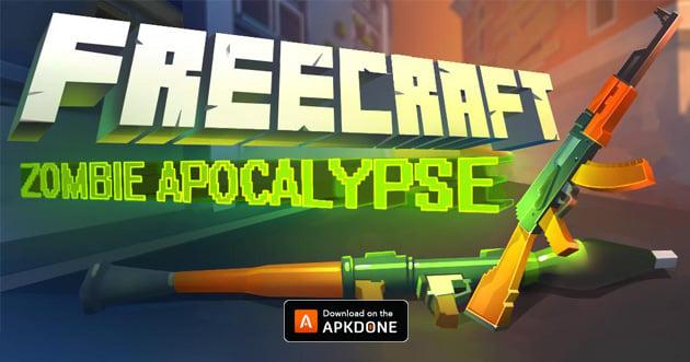 FreeCraft Zombie Apocalypse poster