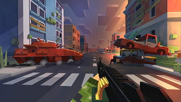FreeCraft Zombie Apocalypse screenshot 1