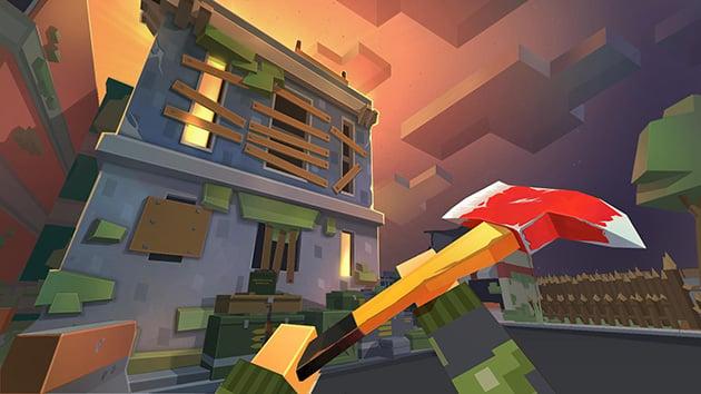 FreeCraft Zombie Apocalypse screenshot 2