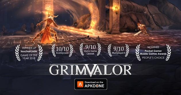 Grimvalor poster